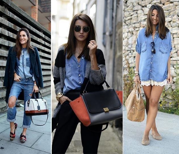 С ним идет целый ряд альтернатив. . Вы можете сочетать джинсовую рубашку с... Джинсовая рубашка и образ в стиле