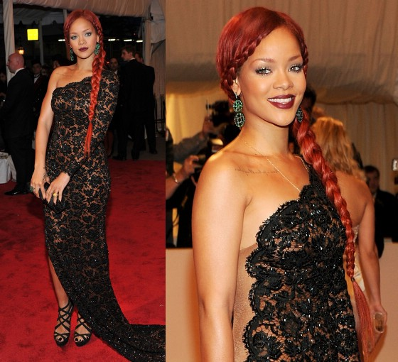 Fashion World Rihanna Hairstyles 2011  Fashion World
