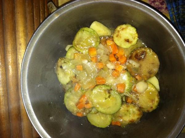Кабачки тушеные с картофелем пошаговый рецепт с фото