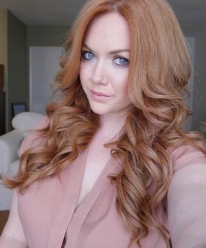 Блондин медный цвет волос