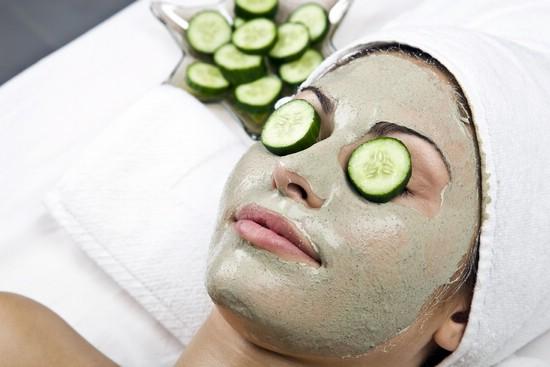 Рецепт маска с огурцом для лица