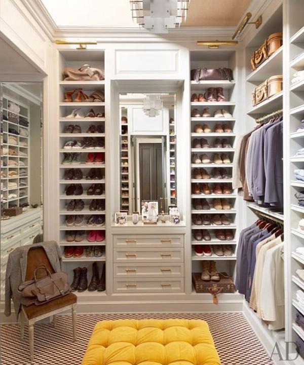 Идеи гардеробные комнаты фото
