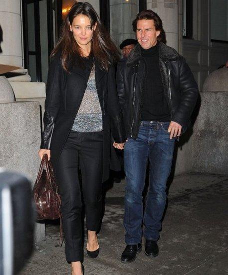 Katie Holmes и Tom Cruise