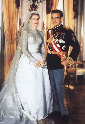 Королевские свадьбы: Грейс Келли и князь Монако Ренье III