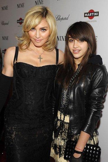 Madonna с дочерью Лурдес