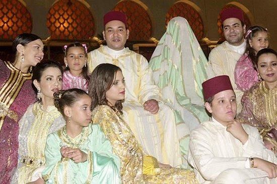 Королевские свадьбы: Король Марокко Мухаммед VI и Лалла Сальма Беннани