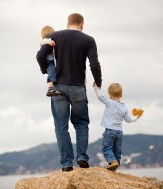 Бывший муж потянулся к детям