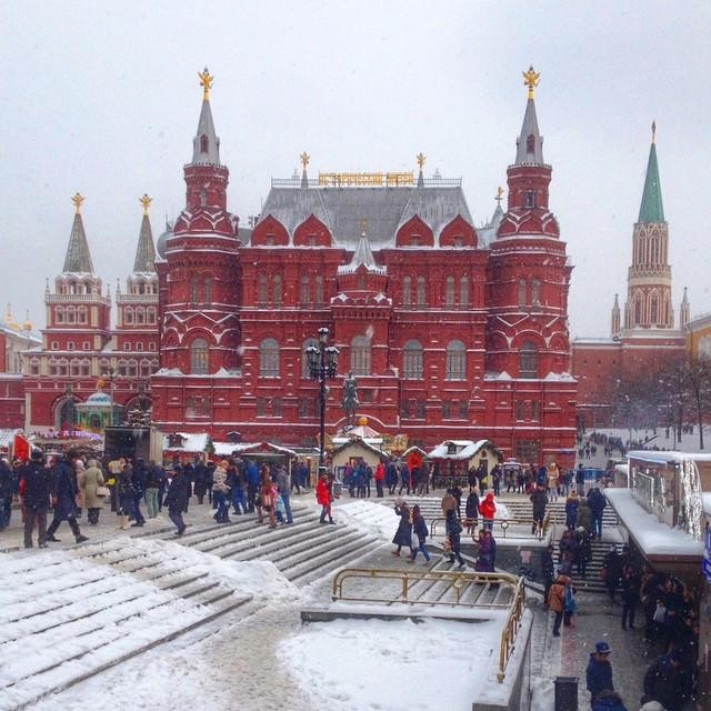 На экскурсию — в Москву