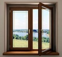 Роскошь деревянных окон
