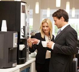 Кофемашина в офисе и на работе — бодрость на весь день