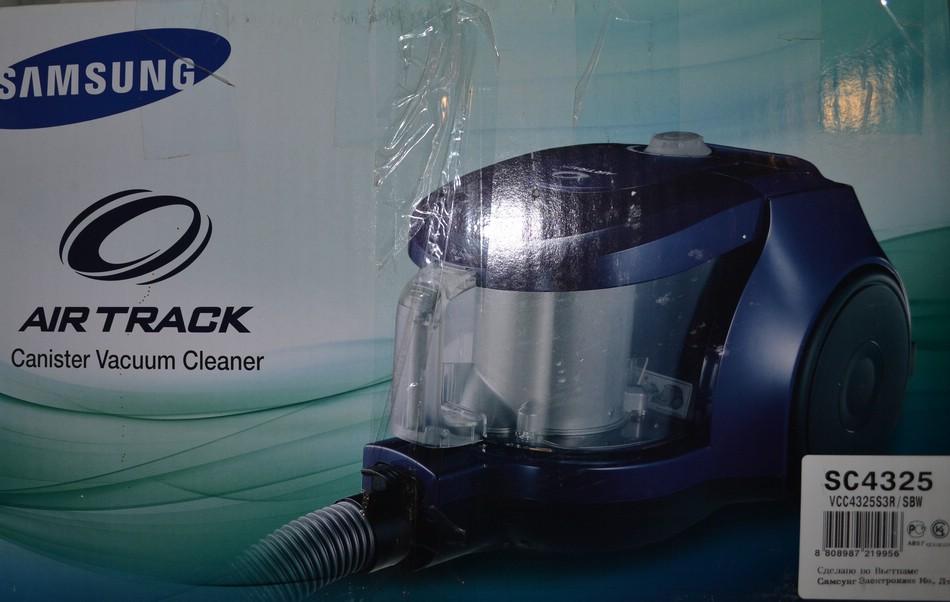 Отзыв: пылесос Samsung Air Track SC 4325
