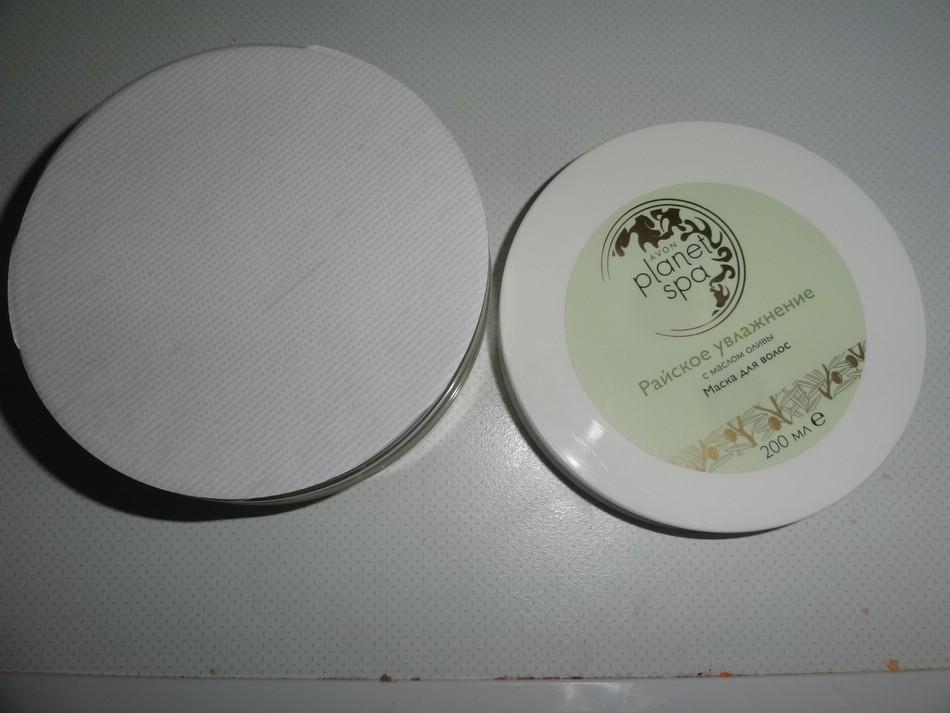 Avon. Маска для волос с маслом оливы «Райское увлажнение». Серия Планета СПА