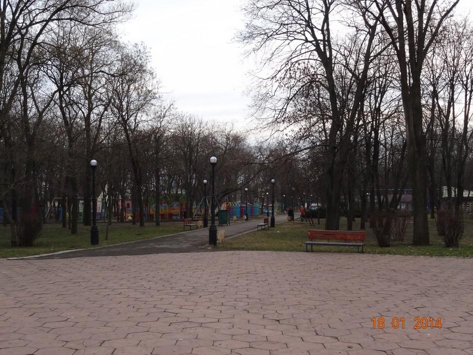 Парк Победы в Тирасполе
