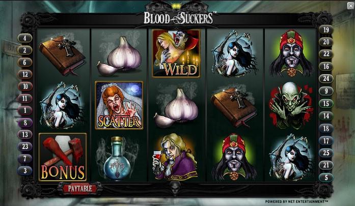Игровой автомат Blood Suckers — выиграть в компании с «Кровососами»