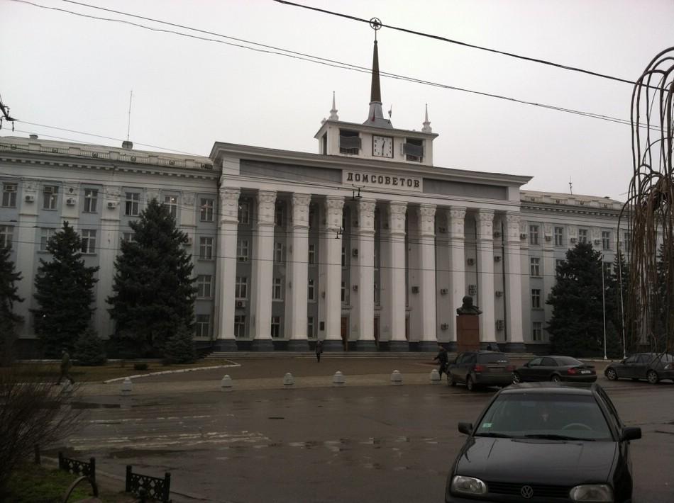Дом Советов в Тирасполе (фото)