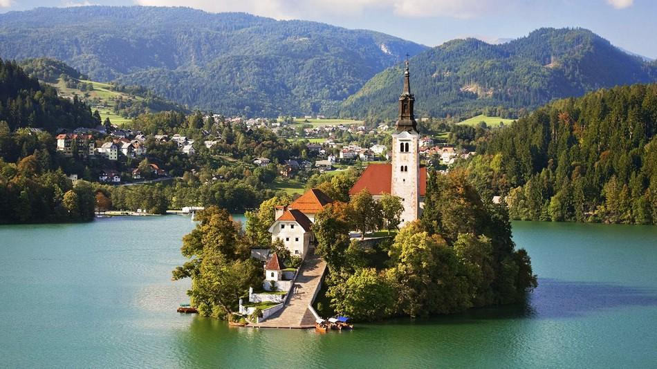 Словения — популярное туристическое направление