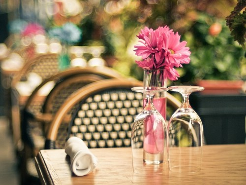 Отдых в кафе