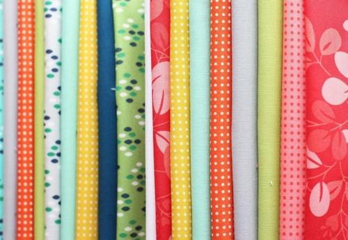 Популярные виды тканей для платья
